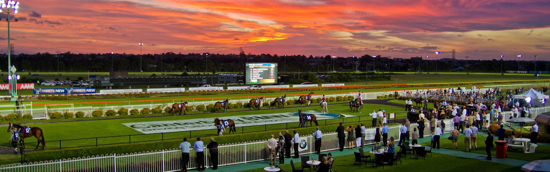 canterbury park summer night racing - australian turf club
